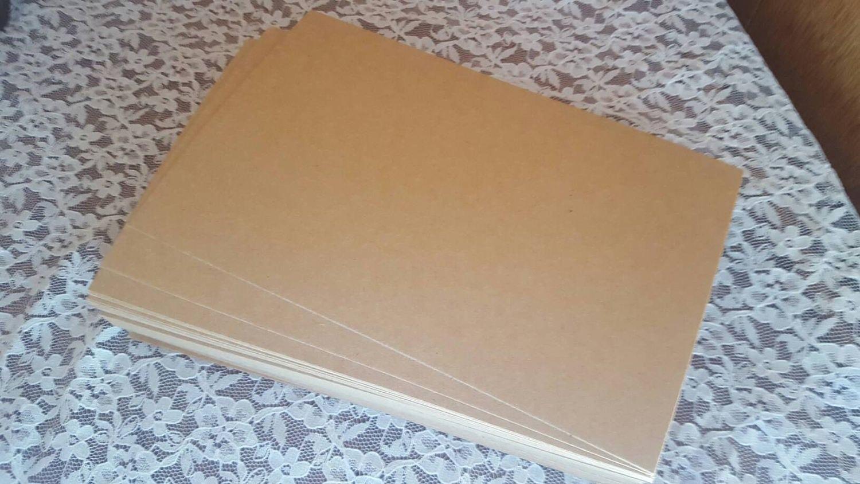Inch kraft chipboard sheets headband