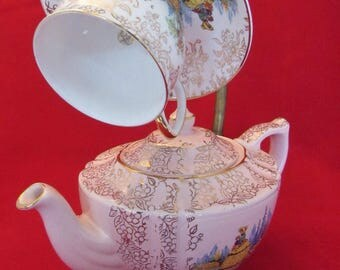 9 volt teapot lamp