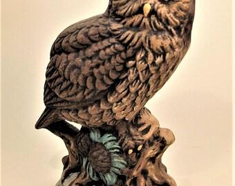 Owl   Horned Owl   Ceramic Owl   Hand Painted Owl   Hand Painted Ceramics   Owl Ceramic   Owls