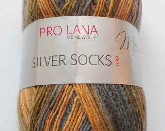sock yarn 100g (5,-Euro/100g), several shades of brown, 4ply (204)