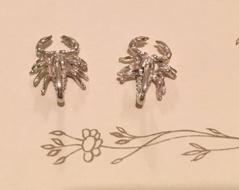 Sterling Silver Medium Scorpion Stud Earring(s)