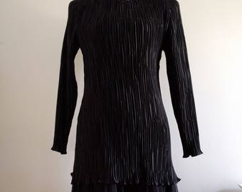 Vintage Black  Dress by Late Edition.
