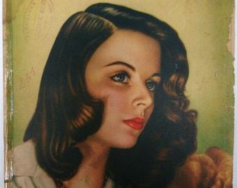 Vintage magazine.Revista antigua. Revista mexicana.México.Mexican magazine.La Familia.1940s magazine.Collectible.Christmas gift. Gift. Rare