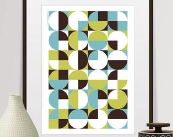 abstract art, abstract print, abstract wall art, mid century modern art, geometric art, minimalist, geometric print, prints, home decor