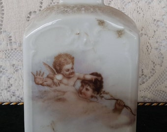 Tea Caddy with Cherubs, Victoria-Carlsbad Austria