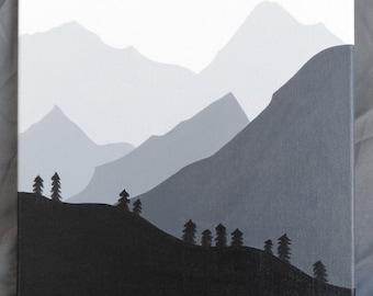 Mountains Canvas