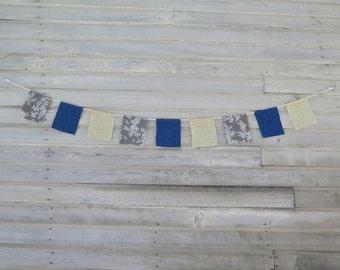 Prayer Flags, Garden Flags, Fabric Bunting, Festival Flags, Boho Room Decor, Hippie, Gypsy, Upcycled, Dorm Room Wall Decor, Earthtone