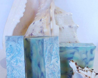 Atlantic Breeze Soap, Ocean Soap, Artisan Soap, Handmade Soap, Cold Process Soap, Shea Butter Soap, All Natural Soap