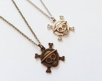 PIRATE SKULL Necklace Pirate Skull Gift Pirate Skull Jewelry Pirate Necklace Pirate Jewelry Pirate Gift Pirate Pendant Pirate Charm Skull