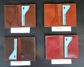 Leather Credit Card Holder / Wallet