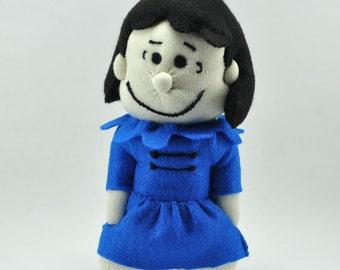 Lucy, Charlie Brown, Handmade Sock character