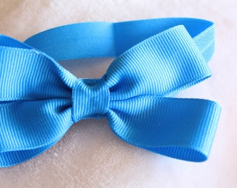 royal blue headband, baby headband, infant headband, toddler headband