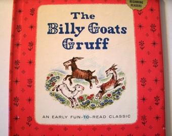 The Billy Goats Gruff, Early Fun to Read Classic, Platt and Munk, Nova Nestrick, 1962