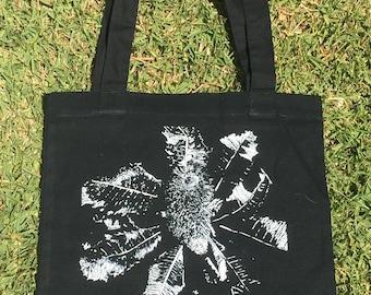 Banksia Linocut design Tote Bag