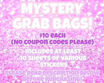 Grab Bag! 1 per customer! No coupon codes please!