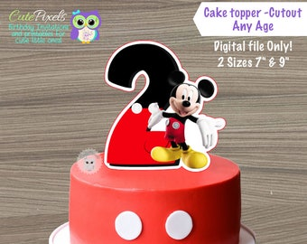 Mickey mouse cake Etsy