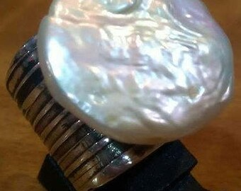 Cultured FW Pearl ring