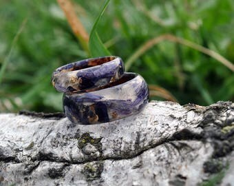 Real birch bark ring, birch wood rings, Natural Wooden ring, Unique Wedding Wooden Ring,  Wedding Ring Wooden, Wooden Ring, Mens Jewelry