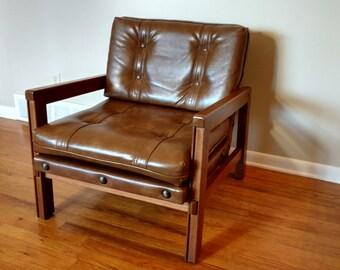 Mid Century Murphy Miller Lounge Chair