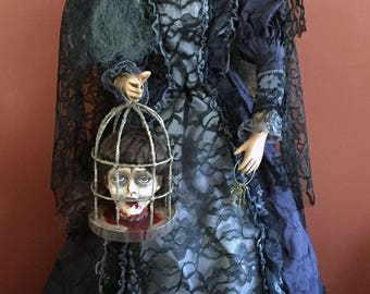Queen Witch ElsBeth Horror Doll
