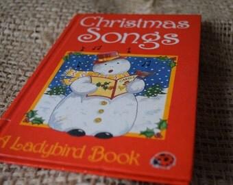 Christmas Songs. A Ladybird Book Christmas Series 8818 Gloss Hardback First Edition.