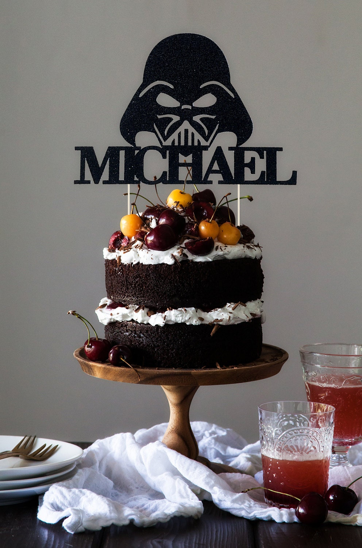 Darth Vader Cake Topper Custom Star Wars Cake Topper Star