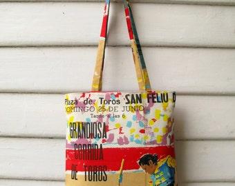 Corrida Linen Tote Bag