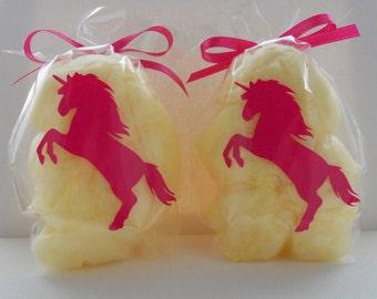 Cotton Candy Unicorn Party Favors- Unicorn Treat bags- Unicorn Birthday Party, Unicorn Baby Shower, Unicorn Theme, Unicorn Party Decoration