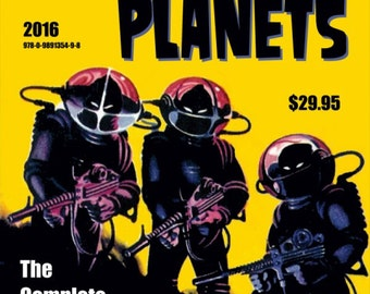 FANTASTIC PLANETS: The Complete Pulp Magazine Covers, Vol. 1