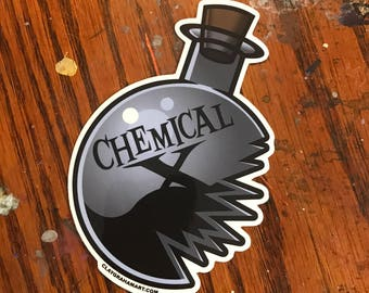Chemical X vinyl sticker