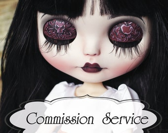 Blythe doll Commission Service