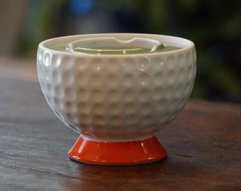 Vintage Noritake Golf Ball Ashtray/Nippon/Toki Kaisha/ Golf Lover
