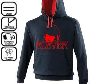 Eleven Stranger Things Inspired Unisex Hoodie Jumper / Gift Sweater