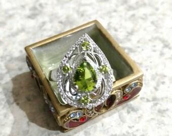 Peridot Ring Size 8.5