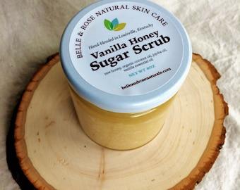 Vanilla Honey Salt Scrub