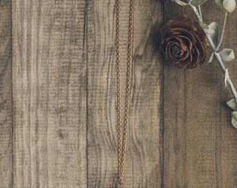 Pinecone Necklace | #15