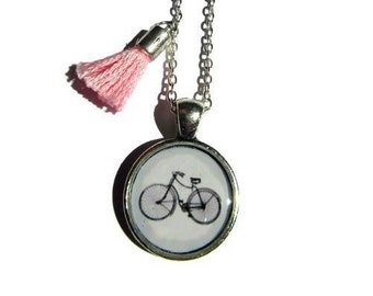 CUTE BICYCLE NECKLACE - Children's Necklace - Children's Jewellery - Kids Necklace - Child Gift - Girls Necklace