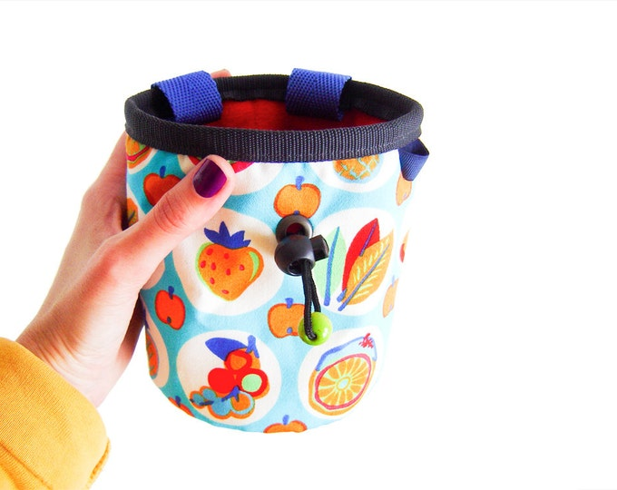 Top Chalk Bags, Chalk Bag Or Bucket, Chalk Bag With Toothbrush Holder