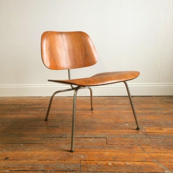 Eames Lounge Chair Plywood: Vintage Herman Miller Eames Molded Plywood Lounge Chair LCM