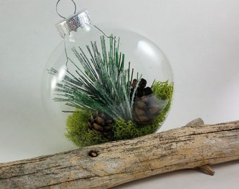 Woodland Glass ball Ornament