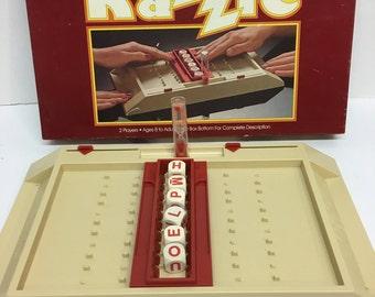 Razzle Word Game