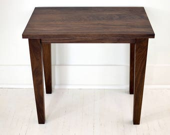 Walnut Side Table | End Table | Night Stand | Walnut | North Shore Side Table | Living Room Table
