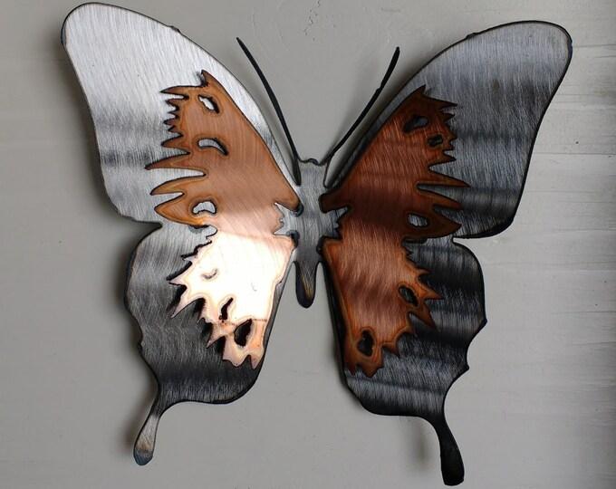 Large Scarlet Swallowtail Butterfly