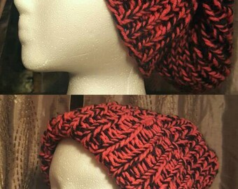 Reversible Knitted Winter/Slouchy Hats