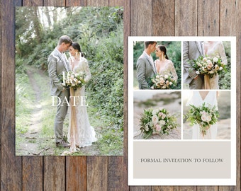 Save The Date Template for photograghers-bridal template design-Bridal Card-Wedding Invitation Card