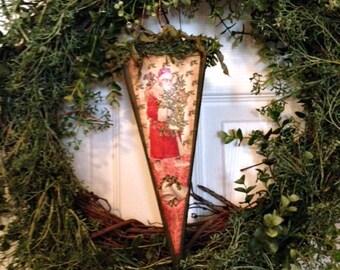 Victorian Cone, Christmas Cone, Christmas Decoration, Paper Cone