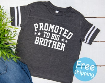 Promoted to big brother shirt, Big brother announcement shirt, Soon to be big brother shirt, Pregnancy announcement, Big brother shirt,  ©