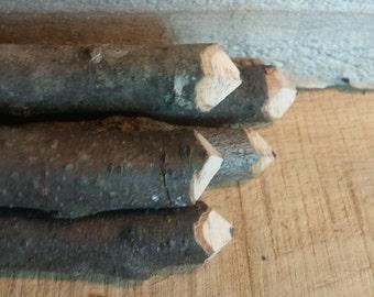 Rustic Twig Pencils, Stick Pencil, Wood Pencil, Natural Graphite Pencils