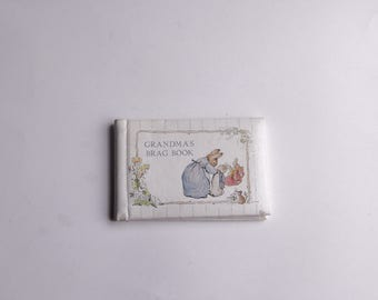 Beatrix Potter Grandma's Brag Book Bunny Rabbit