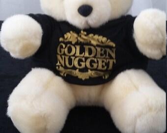 Plush Golden Nugget Bear